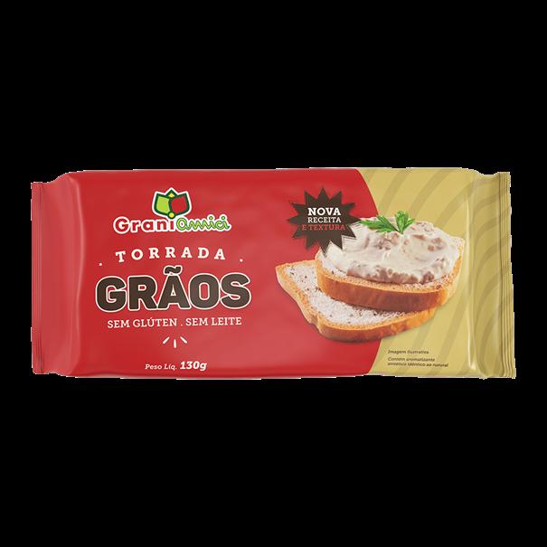 Imagem de Torrada Grãos Sem Gluten -  Grani Amici  130g