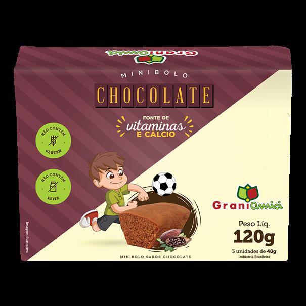 Imagem de Minibolo de Chocolate  - Grani Amici  120g