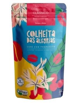 Imagem de Café Orgânico Colheitas das Alegrias Clássico Moido 250g