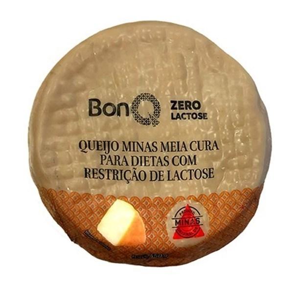 Imagem de Queijo minas meia cura sem lactose Bonq 450g