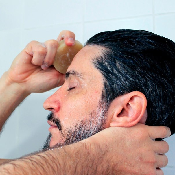 Imagem de Xampu  em Barra Positiva Tomilho, Alecrim, Menta E Louro 90G