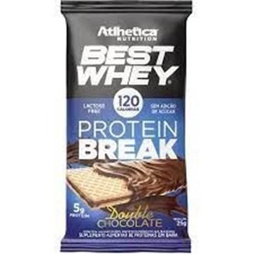 Imagem de Barra best whey break chocolate - Atlhetica