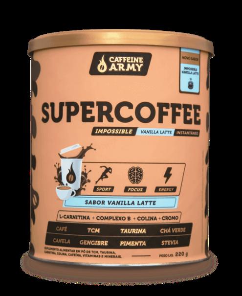 Imagem de Supercoffee Caffeine Army Vanilla Latte 220g