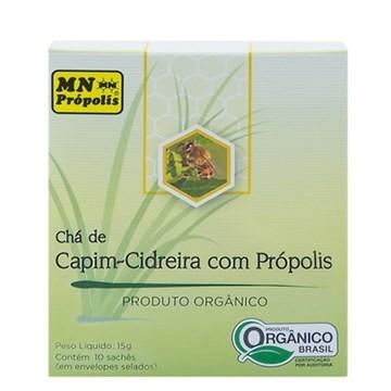 Imagem de Chá de Capim Cidreira Com Própolis Orgânico 15g - 10 sachês