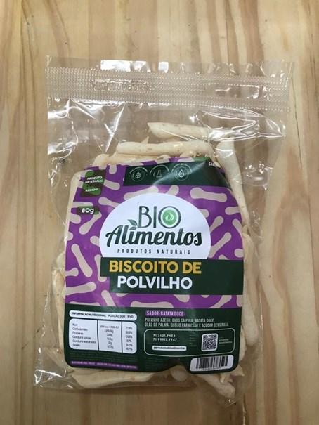 Imagem de Biscoito de  Polvilho - Bio Alimentos Batata Doce 80g
