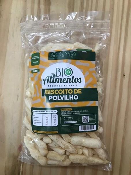 Imagem de Biscoito de  Polvilho Bio - Alimentos Queijo 80g