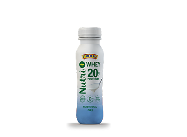 Imagem de Iogurte Tradicional Tirolez Nutri Whey 250g