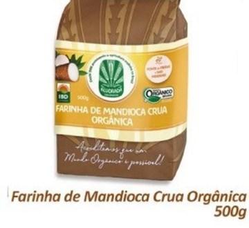 Imagem de Farinha de Mandioca Organica Alvorada Organicos 500g