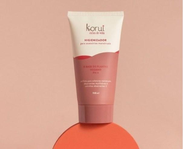 Imagem de Higienizador para Acessórios Menstruais - Korui 150ml