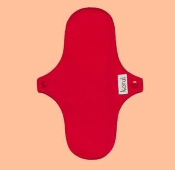 Imagem de Absorvente Normal Conforto Natural Vermelho - Korui