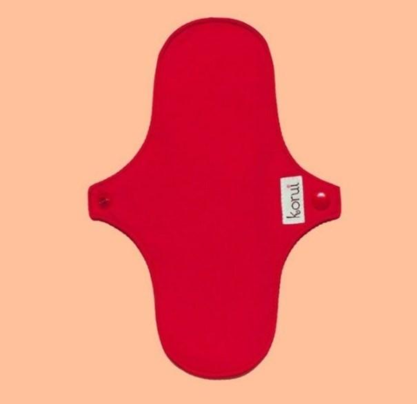 Imagem de Absorvente Mini Conforto Seco Vermelho -  Korui