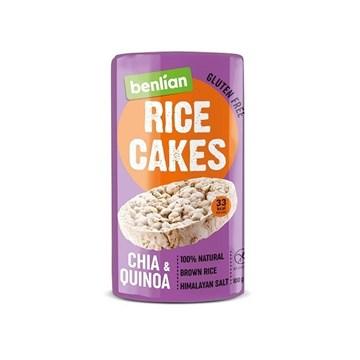 Imagem de Biscoito de Arroz Chia e Quinoa -  Benlian 100g